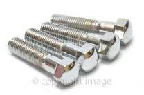 Handlebar Clamp Bolts, Chrome, BSA, Triumph, 65-5334 ,68-5056, 97-2656