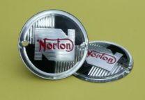 Tank Badges, Norton, Round