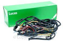 BSA B31, M20, M21 Rigid & Plunger Main Wiring Harness, Genuine Lucas