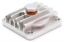 Sump Plate, BSA A7, A10, A50, A65, Billet Alloy, Magnetic With Drain