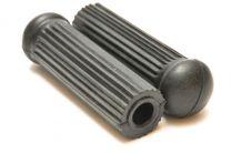 Footrest Rubbers, BSA Bantam D1, D3, Round, 90-4805, UK Made