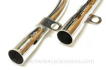 Exhaust Pipes, Norton Navigator, Jubilee, Electra, 1960 On