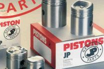 Piston, BSA B34, Goldstar, 1954-59, 9:1 +020, Manufacturer:JP