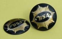Tank Badges, BSA Gold Star, Black, 65-8228