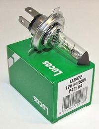 Bulb, Headlamp, 12v Halogen H4, 60/55W