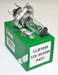 Bulb, Headlamp, 12v Halogen H4, 35/35W