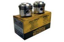 Pistons, Triumph T100,1968-74, 9:1, +020, Manufacturer:Hepolite