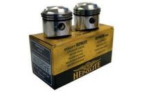 Pistons, Triumph T100,1968-74, 9:1, +080, Manufacturer:Hepolite