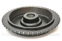 Rear Sprocket/Brake Drum, Triumph T100, T120, QD, 1959-66, 46T, 37-1040