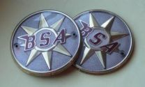 Tank Badges, BSA Bantam, B40
