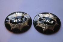 Tank Badges, BSA Gold Star - Green