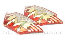 Tank Badges, Matchless, Winged, Plastic, 04-8499