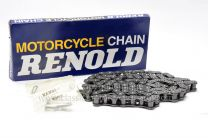 Final Drive Chain, BSA A10, Plunger Sidecar Models, 1950-58, 104L Renolds