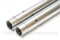 Fork Stanchions, Triumph T120, TR6, 5TA, T100, 1963-67, Hard Chrome, 97-1889, 97-1649, UK MAde