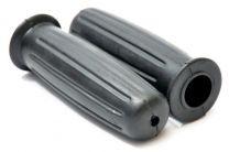 Handlebar Grips, Amal Replica,Triumph Bonneville T120, 366/012B, Black