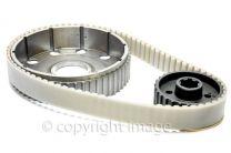 Belt Drive Kit, Triumph T140, TR7, UK Made, Great Quality
