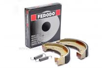 Brake Shoes, Bantam D7-D14, Triumph T20 Cub, 90-5719, 37-0977, Genuine Ferodo