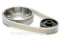 Belt Drive Kit, Triumph T140, TR7, Lightweight Alloy, UK Made, Great Quality