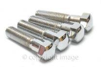 Handlebar Clamp Bolts, Stainless, BSA, Triumph, 65-5334 ,68-5056, 97-2656