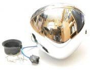 "Headlamp Shell, 7"", Universal, Chrome"