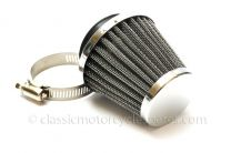 Air Filter, Conical 48mm Inlet, Amal 389 Monobloc, 900 Concentric
