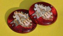 Tank Badges, BSA B31 - Piled Arms.